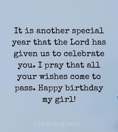Birthday Prayers for my Girlfriend