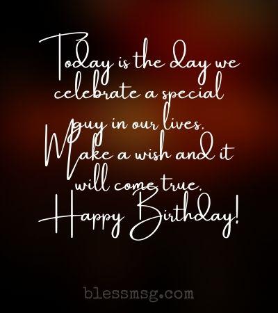 Happy birthday to a wonderful man