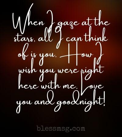 Goodnight message for boyfriend sweet Sweet Goodnight