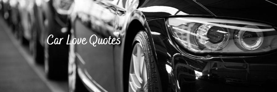 Car Love Quotes